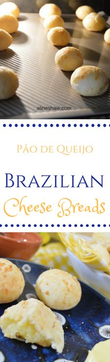 Pão de Queijo | Brazilian Cheese Breads | Cheese Recipes | Gluten Free | Brazilian Recipes | Appetizer Recipes | Snack | Brazilian Food | Authentic Brazilian