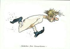 Kjell Aukrust. Flukten fra Pornoloven... Erichsens forlag Moose Art, Poster, Boys, Animals, Men, Postcards, Pictures, Baby Boys, Animales