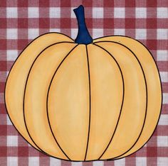 12 Free Halloween Printables Including Free Digital Stamps and Templates: Simple Pumpkin Digital Stamp