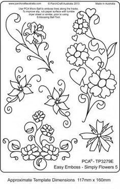 brush embroidery template More (cookie decorating icing flower) Piping Templates, Piping Patterns, Royal Icing Templates, Royal Icing Transfers, Cake Templates, Templates Free, Rose Patterns, Royal Icing Decorations, Chocolate Decorations