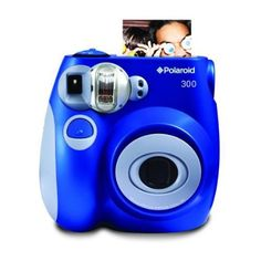 Polaroid PIC-300 Instant Film Camera (Blue) $65