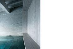 Spa at Chalet Beranger by NOE DUCHAUFOUR LAWRANCE - Designer / Architecte d'intérieur