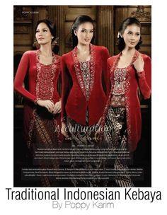 """Traditional Indonesian Kebaya"" by regina-eghie on Polyvore"