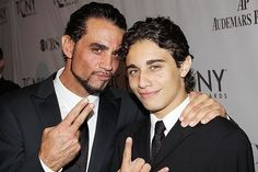Bobby and Jake Cannavale! (Yes, father and son played father and son in the show) Bobby Cannavale, Good Looking Actors, Nurse Jackie, Lena Horne, Father And Son, People Like, Gorgeous Men, Movie Stars, How To Look Better