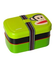 Another great find on #zulily! Green Paul Frank Picnic Lunch Box #zulilyfinds