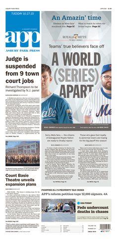 Asbury Park Press 10/27/15 via Newseum