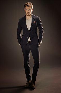 Sharp Dressed Man, Well Dressed Men, Fashion Moda, Men's Fashion, Fashion Ideas, Stylish Men, Men Casual, Casual Suit, Estilo Cool