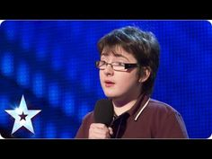 """Fourteen-year-old Jack Carroll opened his audition for """"Britain's Got Talent"""" with this line, and the act that followed was easily one of the most memorable -- and hilarious -- of the popular British reality show. The young aspiring comedian has cerebral palsy and faced Simon Cowell and the other judges using a mobility aid on last week's episode. http://www.huffingtonpost.com/2013/04/21/jack-carroll-14yearold-br_n_3128241.html"""