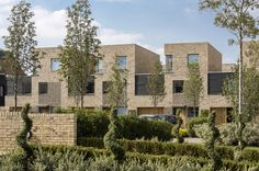 Abode, Great Kneighton, Cambridge, 2014 - Proctor and Matthews Architects Social Housing Architecture, Brick Architecture, Residential Architecture, Brick Masonry, Brick Facade, Facade Design, Exterior Design, Brick Projects, Brick Construction