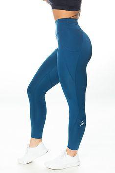 f9b506c53b211 The Raenell Sleek Legging - Nautica Blue Athletic Outfits, Fitness Fashion,  Yoga Pants,