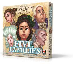 Legacy: Five Families expansion. Artwork: Mateusz Bielski. Design: Rafał Szyma