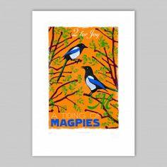A Tiding of Magpies - Joy