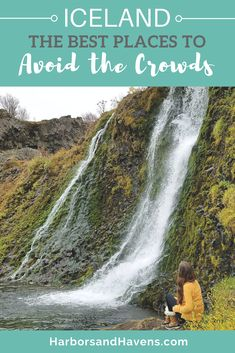 Iceland waterfalls | Where to go in Iceland | Iceland tips | Best of Iceland | Travel to Iceland #iceland  #waterfalls