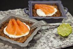 rostis saumon gratin Cest toujours un succès! Rostïs au four au saumon fumé
