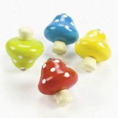Mushroom Spin Top 1 Dozen Bulk | eBay
