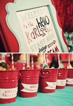 Fiestas Infantiles Decoracion: Fiesta Temática de Hello Kitty al estilo Vintage