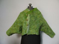 Nuno Felted Jackets Gallery | Hands On Creativity