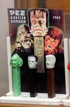 I had two of these - the Frankenstein monster, and the Creature From The Black Lagoon.