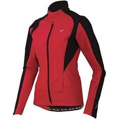 Pearl Izumi - Ride Women's Pro Softshell 180 Jacket, Crimson, XX-Large - http://ridingjerseys.com/pearl-izumi-ride-womens-pro-softshell-180-jacket-crimson-xx-large/