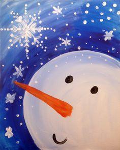 christmas paintings for kids Christmas Canvas, Christmas Paintings, Christmas Art, Kids Canvas, Canvas Art, Canvas Ideas, Canvas Paintings, Painting For Kids, Art For Kids