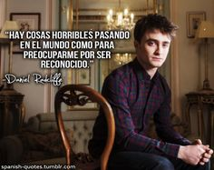 Spanish Quotes Harry Potter Tumblr, Harry Potter Ron And Hermione, Albus Severus Potter, Harry Potter Jk Rowling, Mundo Harry Potter, Harry Potter Quotes, Harry Potter World, Forever Book, Daniel Radcliffe