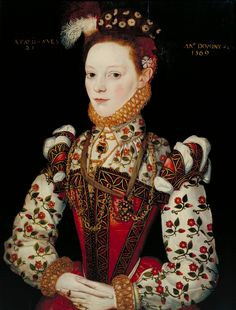 1569 Thought to be Lady Helena Snakenborg, Marchioness of Northampton by ? of British School (Tate Collection, London)