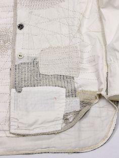 KAPITAL - boro shirt detail