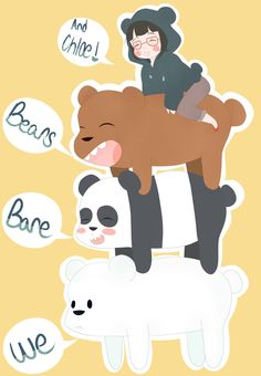 586 Best We Bare Bears Images In 2019 We Bear Caricatures Bear
