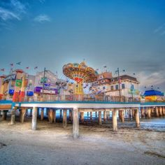 Galveston historical pleasure pier. @sgoins oh how I can't wait!!!! Your pictures are going to be AMAZING!!