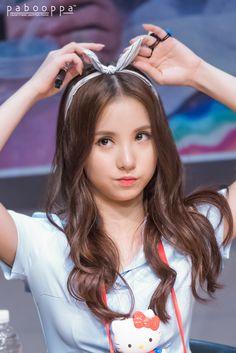 Eunha with cute ribbon ! ☆