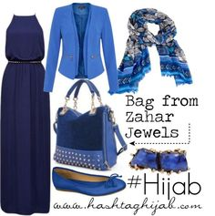 Hashtag Hijab Outfit -- That's pretty! Modesty Fashion, Hijab Fashion, Fashion Outfits, Islamic Fashion, Muslim Fashion, Modest Outfits, Classy Outfits, Hashtag Hijab, Hijab Trends