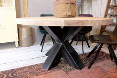 Tafels met stalen onderstel - Zwaartafelen | Made in Holland