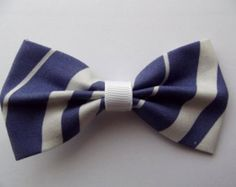Ravenclaw stripes hair bow (movie colors)