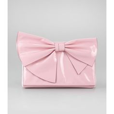 Valentino Lacca Bow Clutch Bag, Pop Gardenia and other apparel, accessories and trends. Browse and shop related looks.