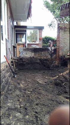 Uitbouw uitgegraven door robschepverhuur.nl