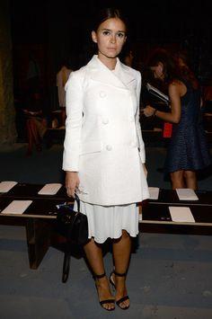 Hoje vou falar sobre Miroslava Duma! Russa e editora de moda da revista…