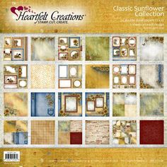 Heartfelt Creations - Classic Sunflower Paper Collection