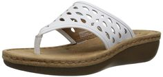 Clarks Women's Trista Zest Wedge Sandal * Find out more details by clicking the image : Wedge sandals