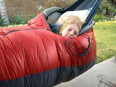 hammock camping with kids     **I want to do this!!**