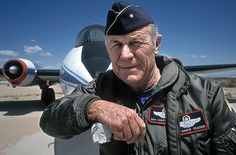 Chuck Yeager, The Right Stuff. by O.Blaise, via Flickr