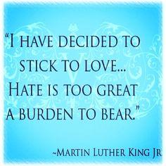 #MLK #love Dr.Martin Luther King, Jr.