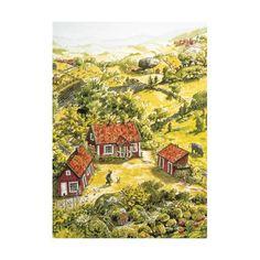 Pettson och Findus gården affisch - Barnbokhandeln