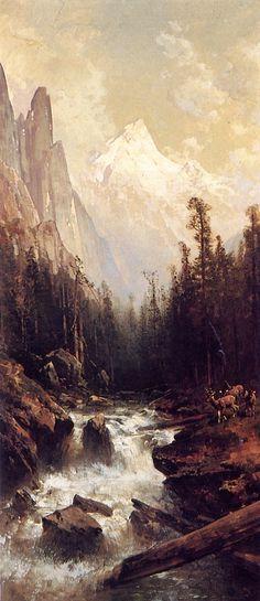 The Athenaeum - Yosemite (Thomas Hill - )
