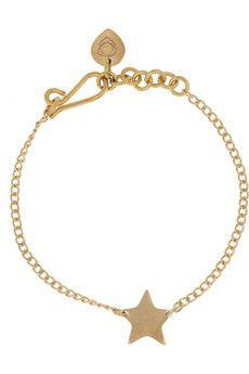 Nyota Panua brass bracelet