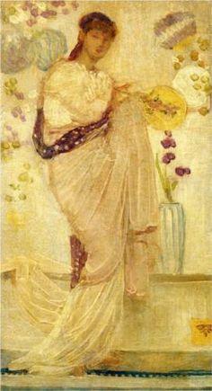 James McNeill Whistler (American: 1834- 1903)   Tanagra
