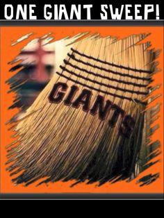 7/8-10/16 The San Francisco Giants sweep the Arizona Diamondbacks