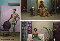 """Look book: Vlisco - """"A Tribute to Our Rich Heritage"""" """"Hommage a l'art"""" - More here: http://www.elegancy101.com/2013/05/look-book-vlisco-tribute-to-our-rich.html"""