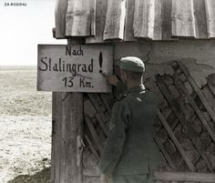 German soldier near  Stalingrad 1942