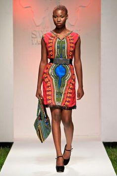 Emerging designers.... my design made from kanga African fabric ...by nabila bhanji
