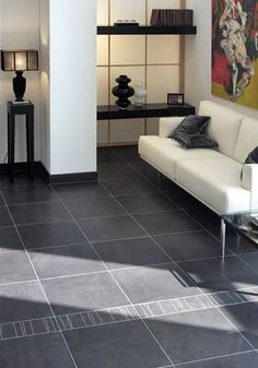 Ideas Para, Tile Floor, Living Room Decor, House Design, Doors, Flooring, Home Decor, Random, Kitchens